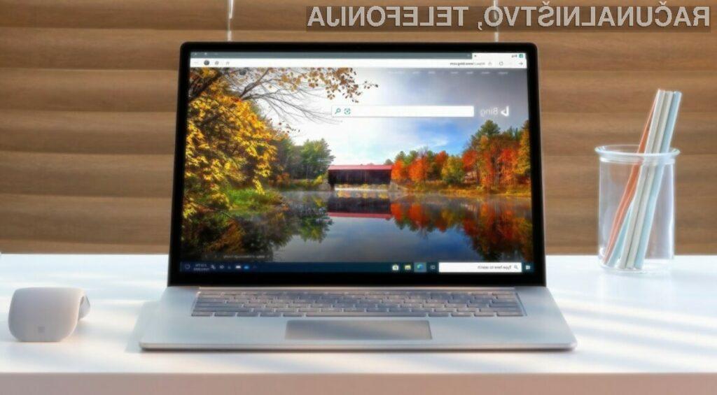Novi Microsoft Edge bo na voljo za prenos 15. januarja 2020.