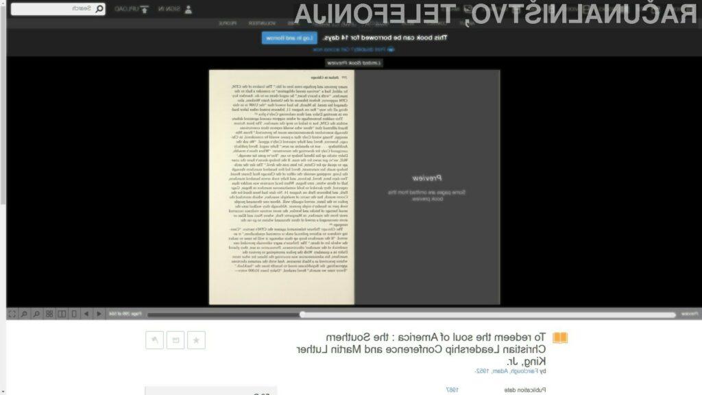 Wikipedijinim člankom dodali digitalni predogled knjižnih virov