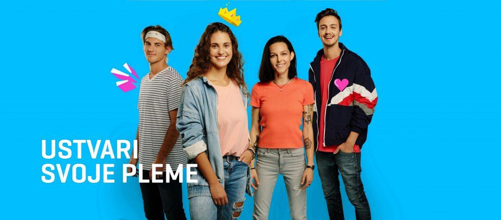 Telekom Slovenije z novim paketom NekiNeki mlade povezuje v pleme