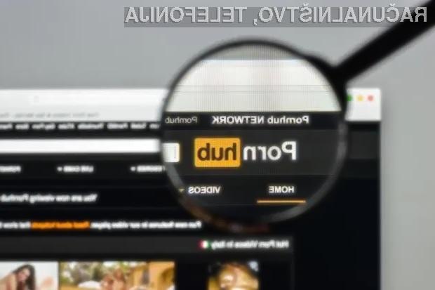 PayPal je iz neznanih razlogov obrnil hrbet pornografski spletni strani Pornhub.