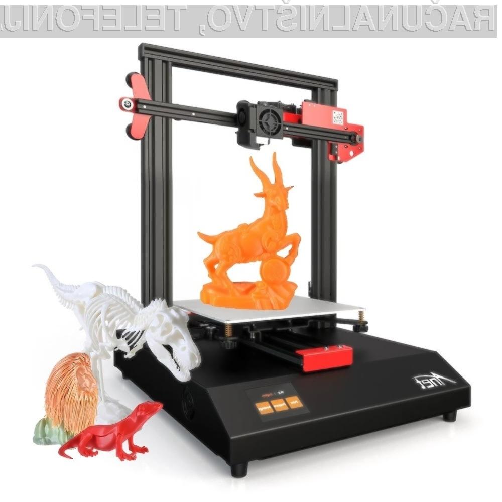 3D tiskalnik Anet ET4 nas zagotovo ne bo razočaral!