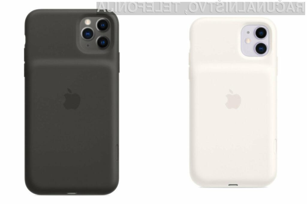 Ohišja Apple Smart Battery Case niso najlepša, so pa zelo uporabna.