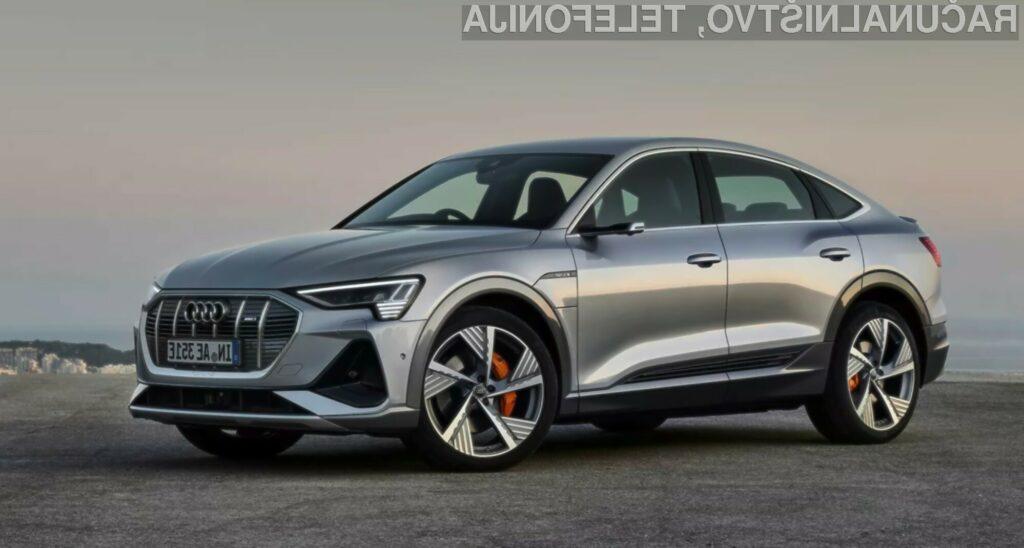 Audi predstavil električni model E-Tron Sportback