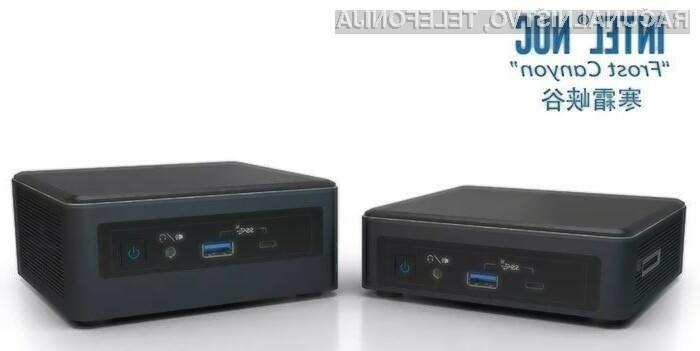 Kompaktni osebni računalnik Intel NUC bo postal še boljši in zmogljivejši!