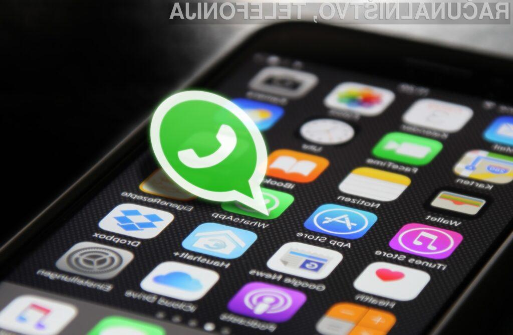 Samouničujoča sporočila prihajajo na WhatsApp, z novim imenom in nastavitvami