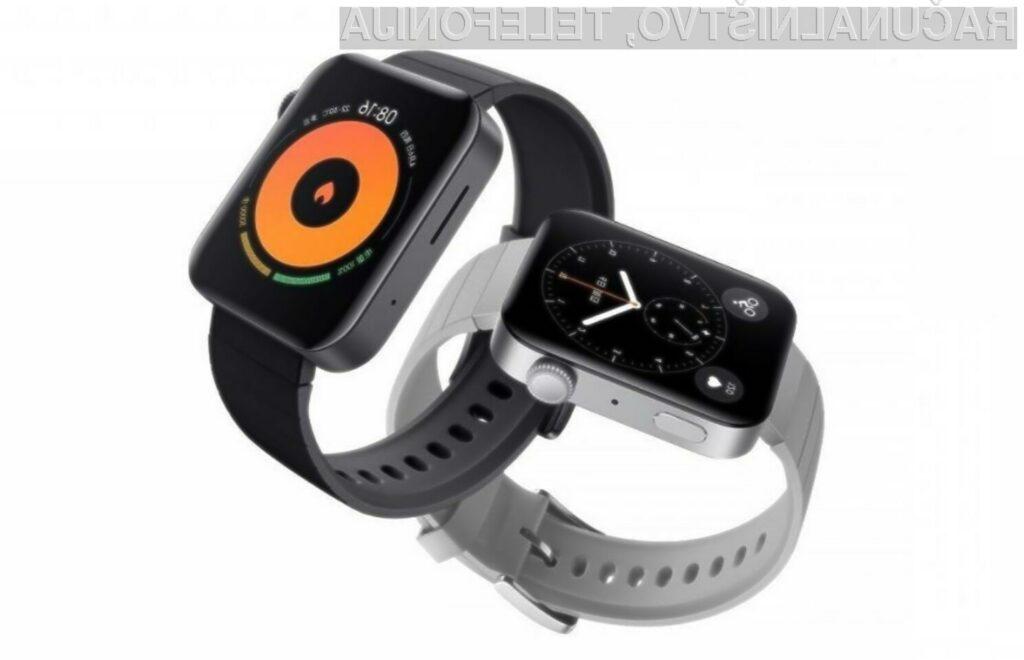 Pametna ročna ura Xiaomi Mi Watch za malo denarja nudi veliko!