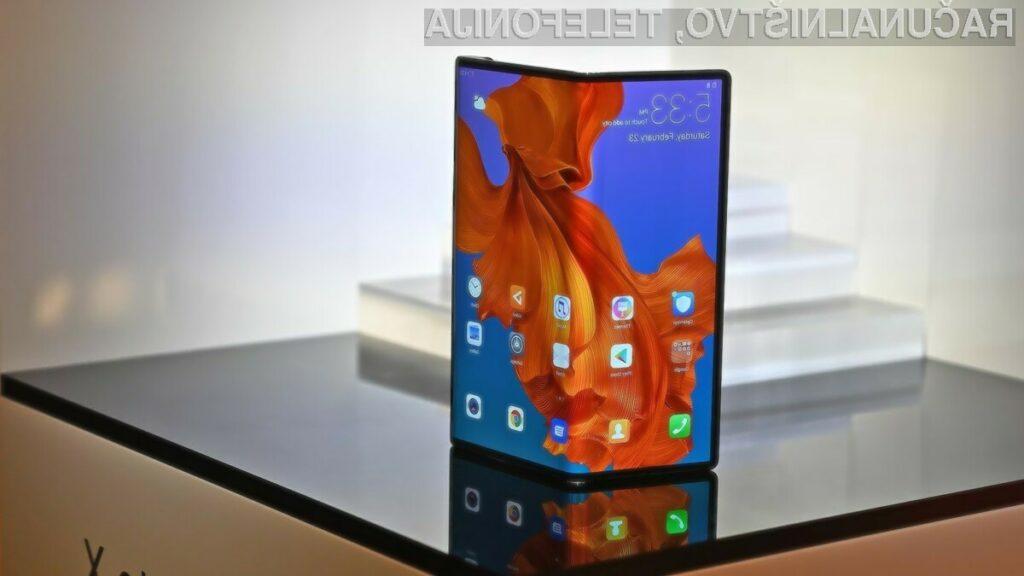 Zaslon pametnega mobilnega telefona Huawei Mate X je vrednoten na kar preračunanih 908 evrov.
