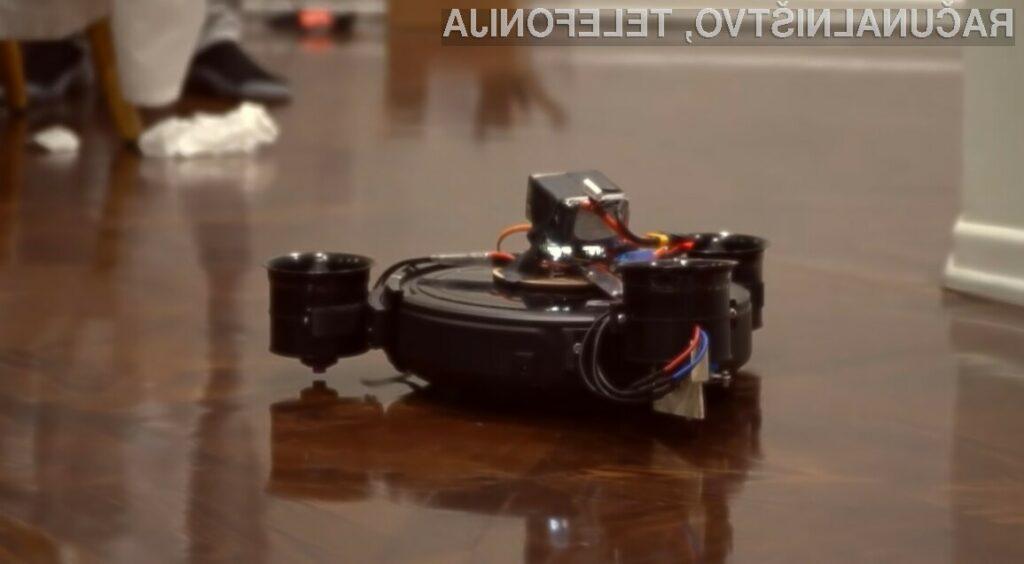Koncept sesalnega robota s propelerji je navdušil mnoge!