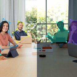 Vrhunski sistem za video konference s samodejnim nadzorom kamere