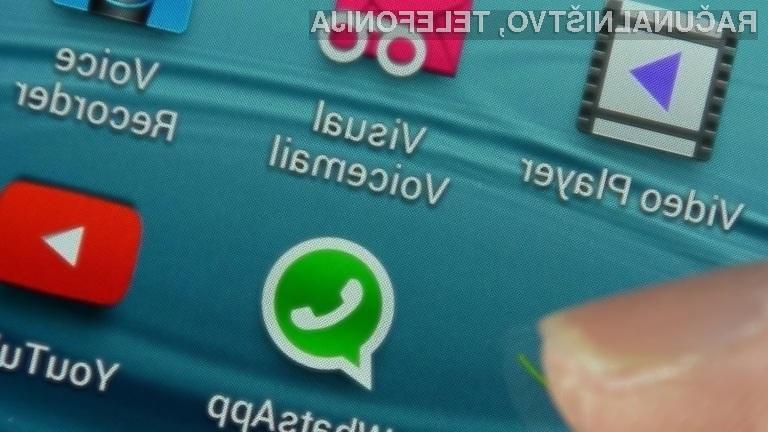 WhatsApp nam bo v 2020 pričel prikazovati reklamne oglase!
