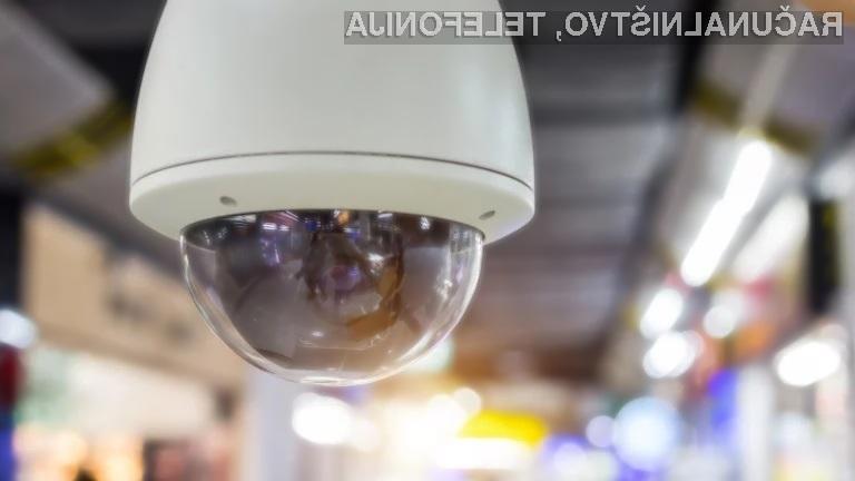 Ali veste, katera država ima največje število nadzornih kamer na prebivalca?