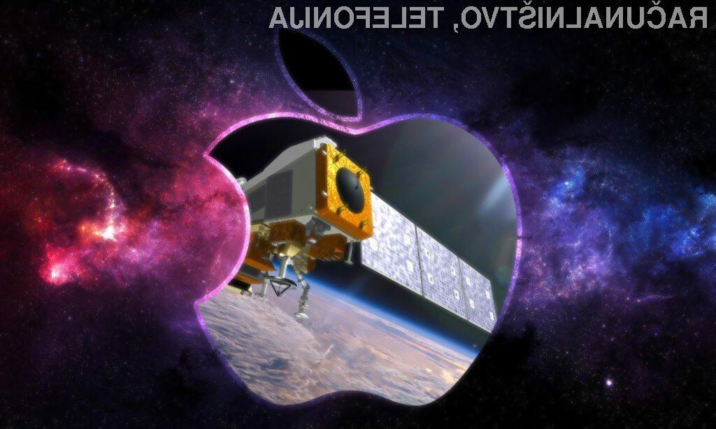 Apple z lastnimi sateliti v vesolju?
