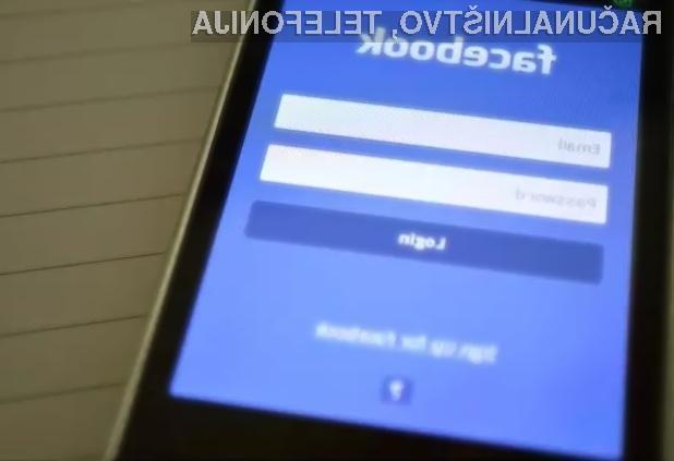 Facebooku zaupajte le tiste podatke, ki so lahko razkriti javnosti!