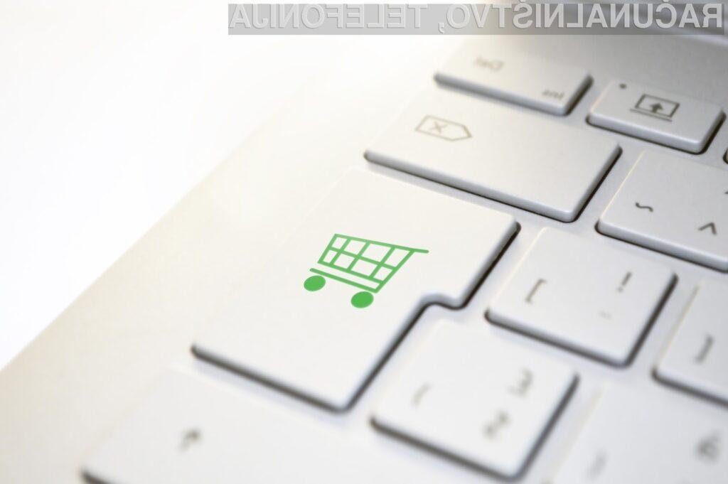 Število spletnih kupcev se je v zadnjem desetletju skoraj podvojilo