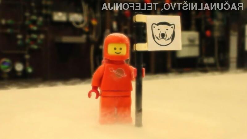 Kocke Lego so se izkazale kot odlična alternativa precej dražjim izolacijskim materialom.