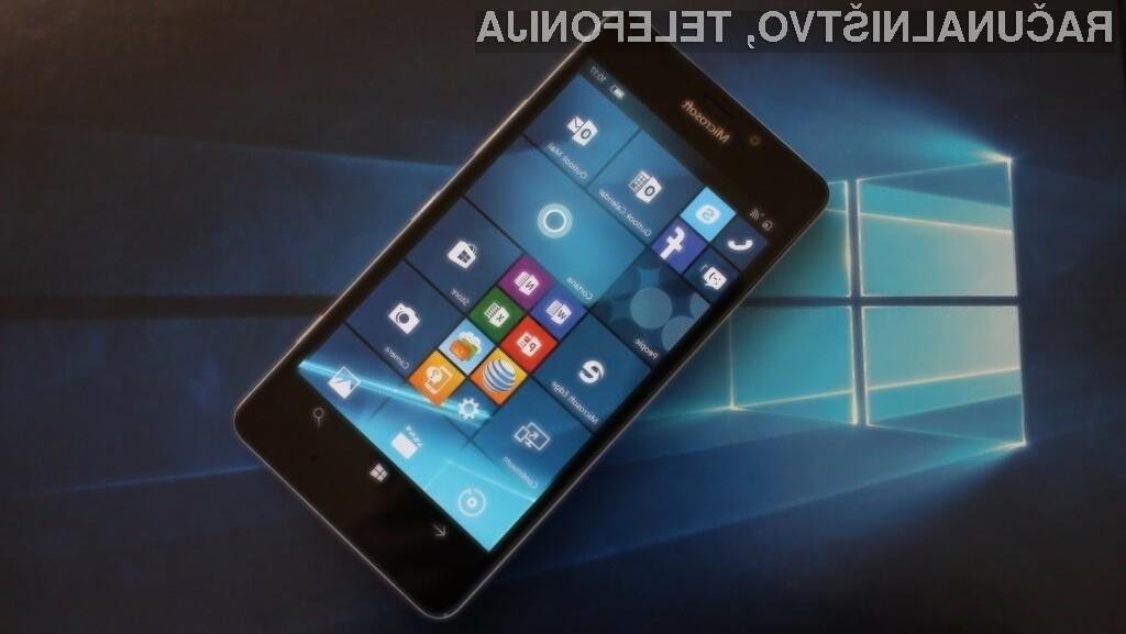 Windows 10 Mobile bo dokončno ugasnil 14. januarja 2020.