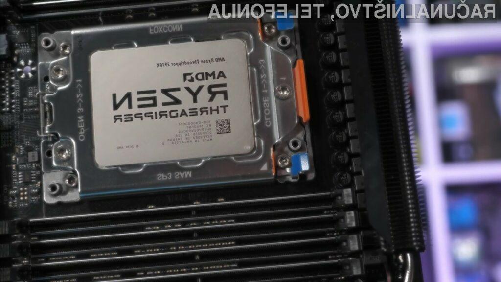 Procesor AMD Ryzen Threadripper 3970X se navija kot za stavo!