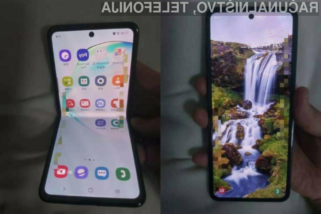 Je to novi prepogljivi Samsung Galaxy Fold 2?