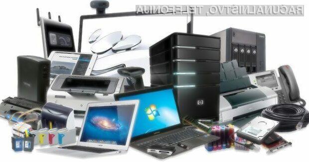 Z odsluženimi računalniki, tablicami in telefoni nikakor na odpad