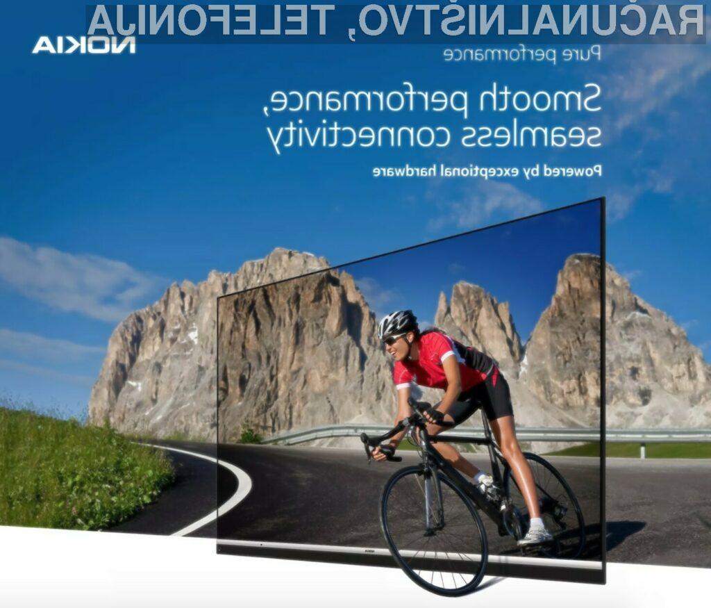 Predstavili prvi pametni televizor znamke Nokia