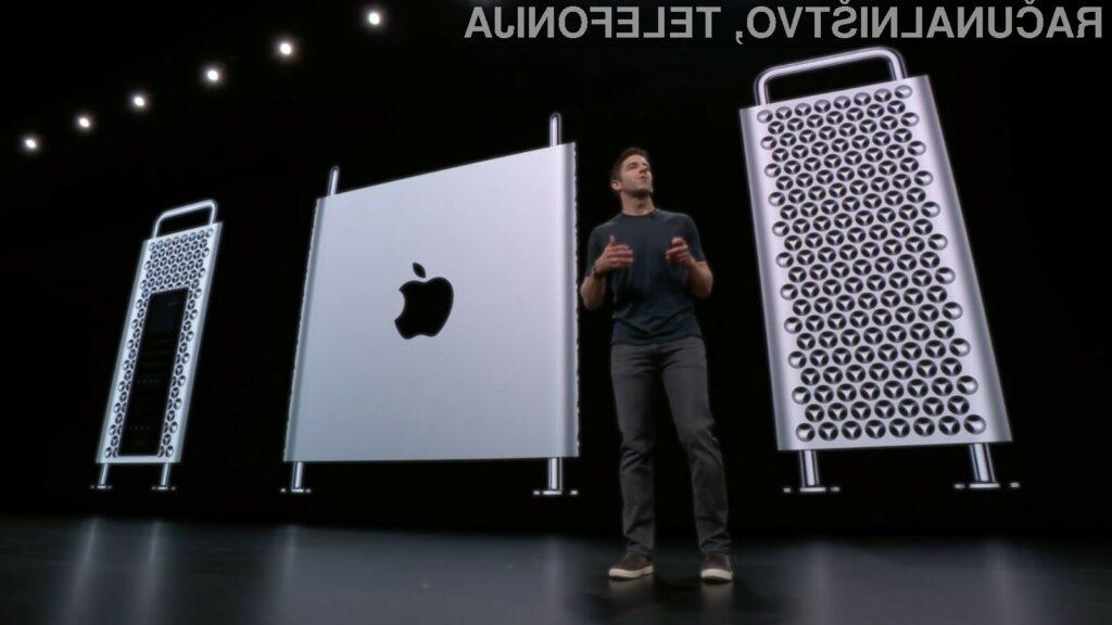 Vstopna različica osebnega računalnika Apple Mac Pro je v Združenih državah Amerike vrednotena na preračunanih 5.423 evrov.