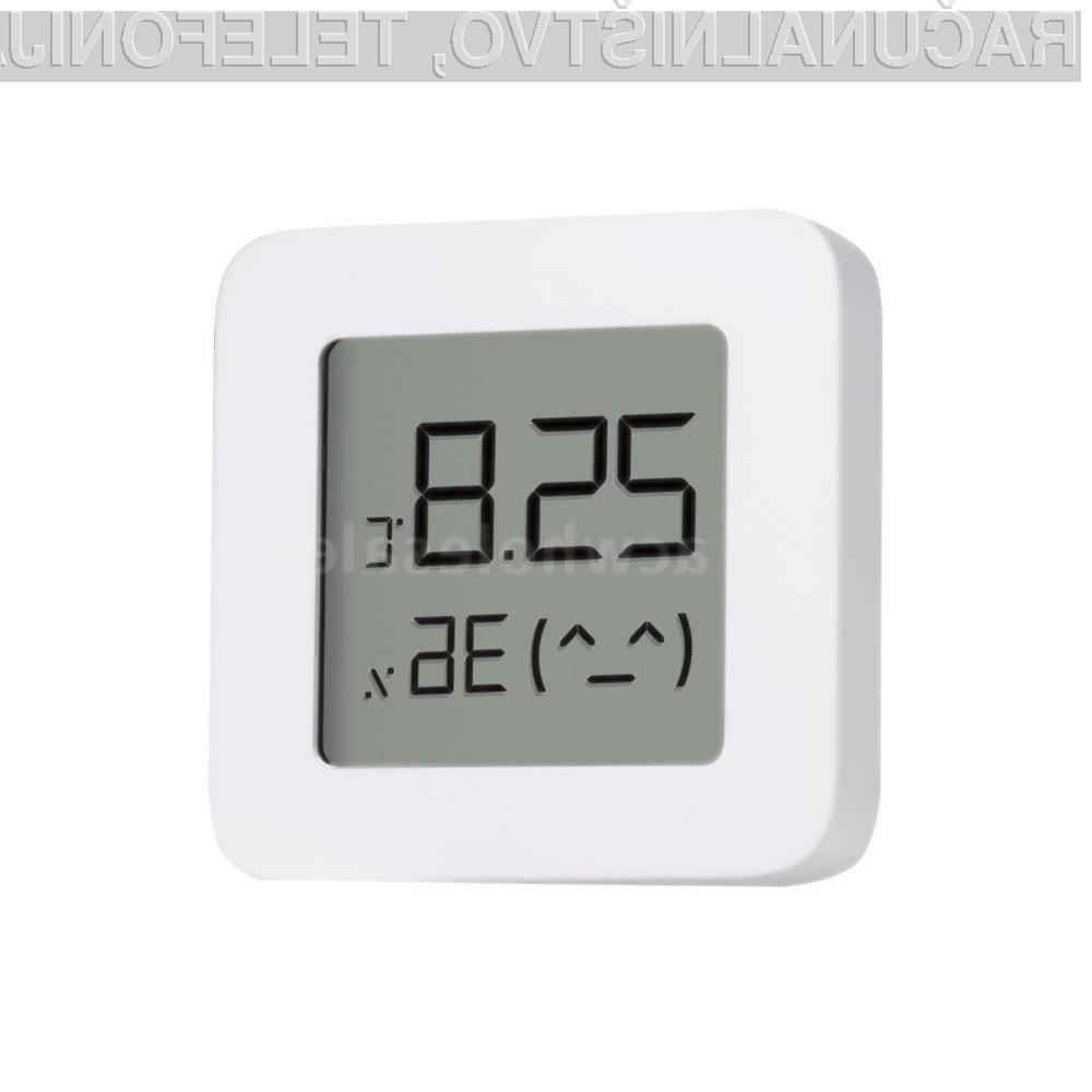 Namizni elektronski termometer Xiaomi Bluetooth Thermometer 2 je nadvse uporaben!
