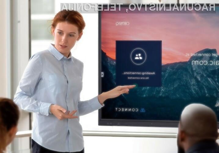 NEC MultiSync CB serija – kakovostni interaktivni zasloni po dostopni ceni
