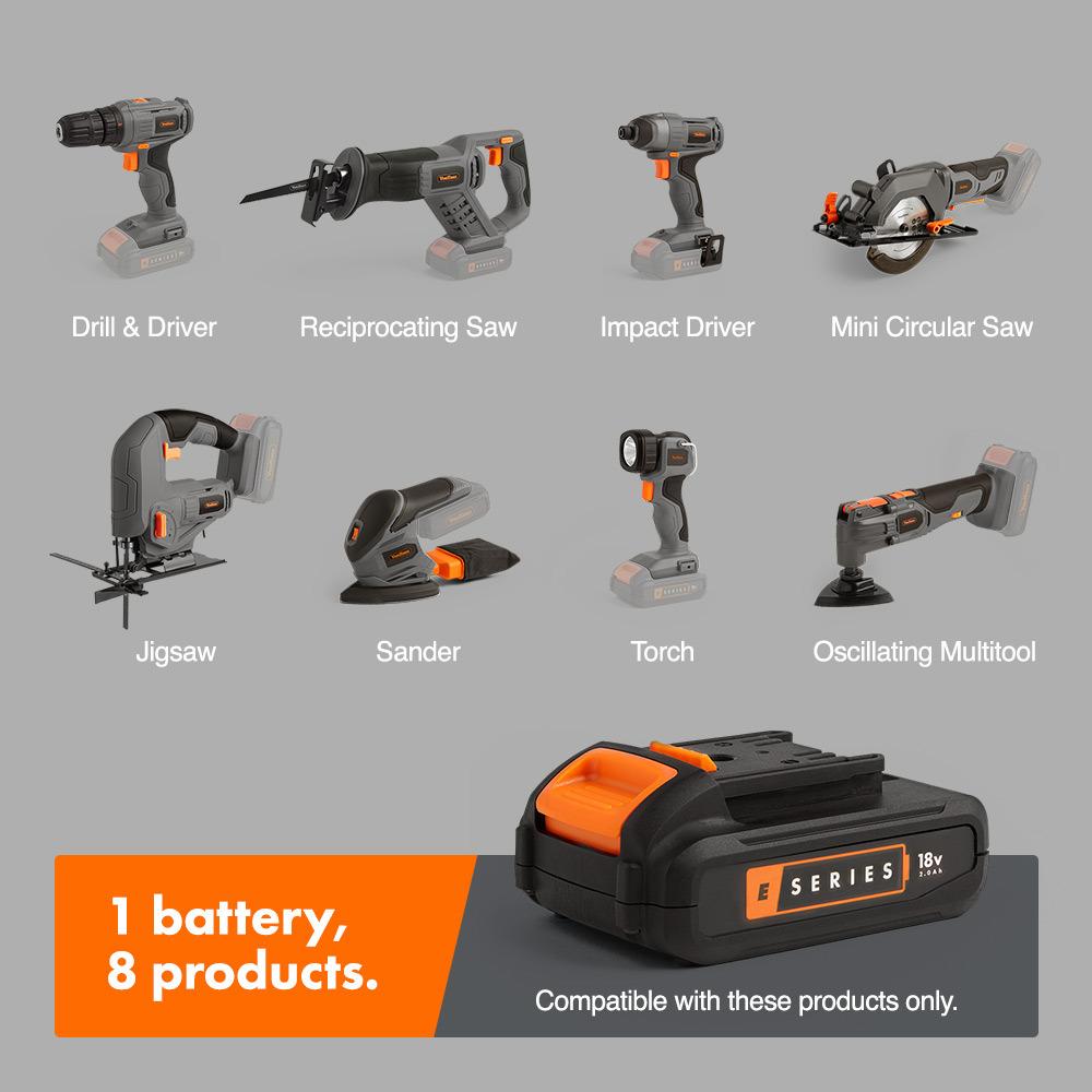 Brezžično orodje na baterije