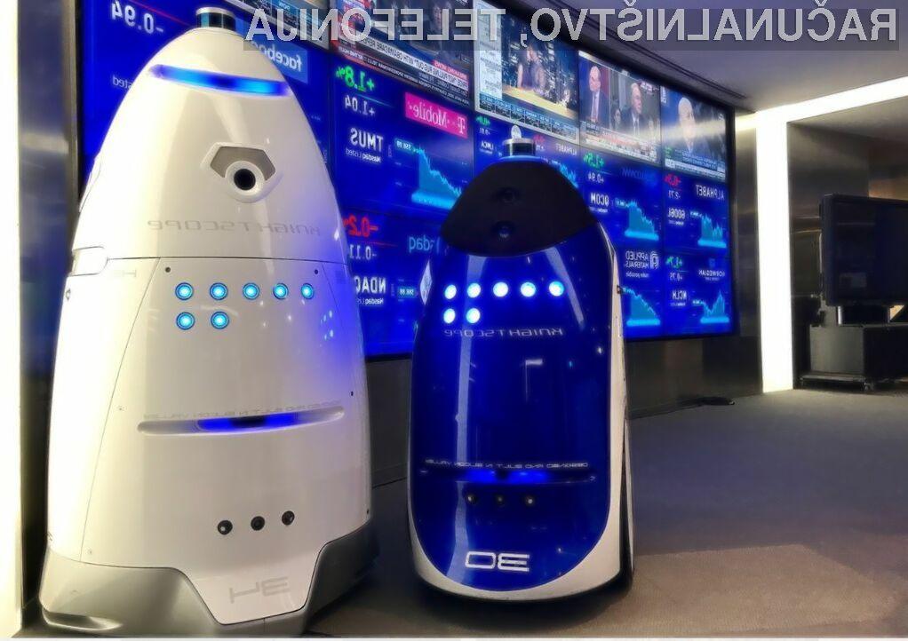 Ulice Houstona bodo prek kriminalom varovali robotski policisti