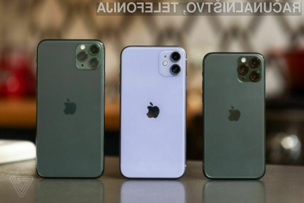 Pridaja pametnih mobilnih telefonov iPhone je podjetju Apple skupno namreč prinesla kar 60 odstotkov celotnih prihodkov.
