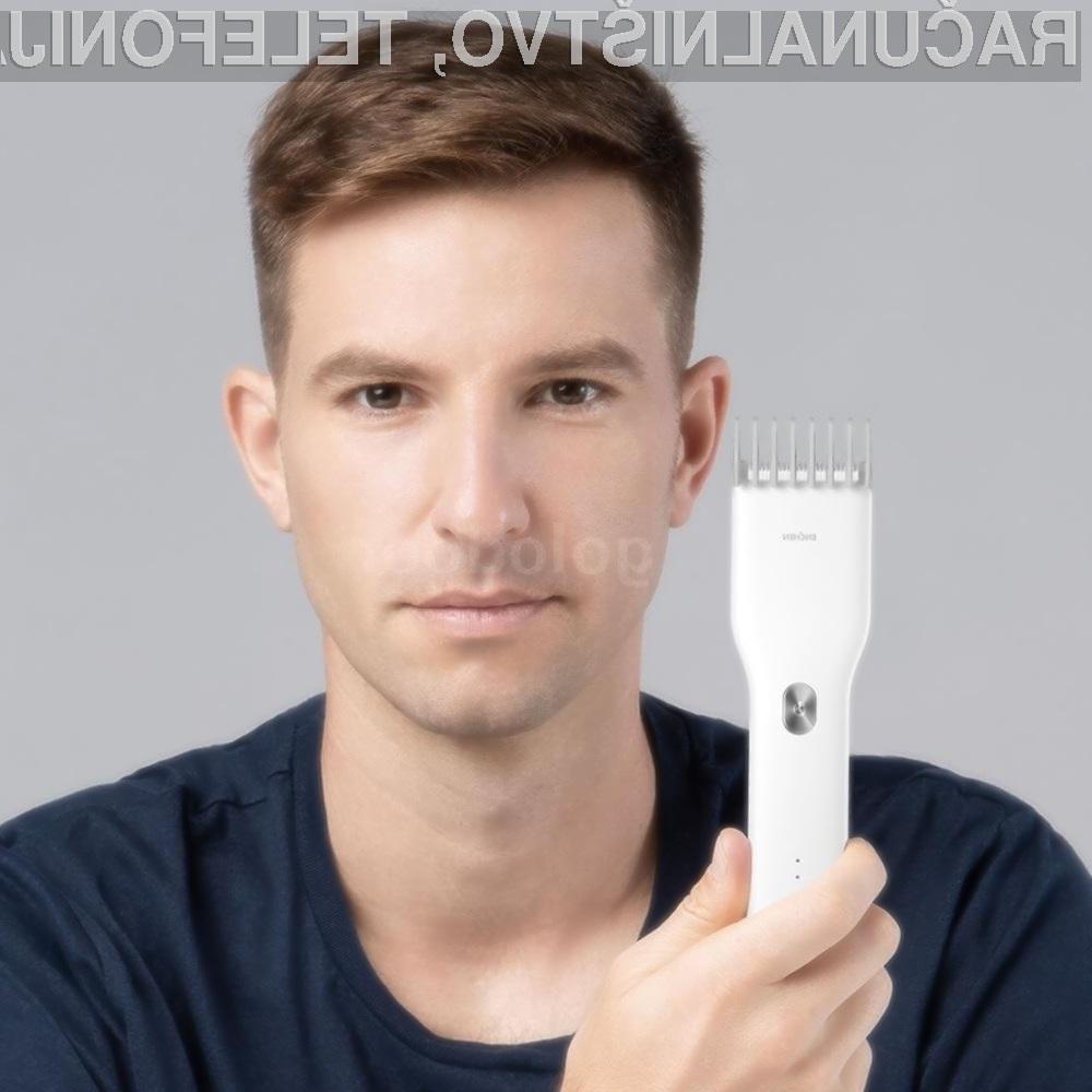 Električni brivnik Xiaomi ENHCEN je kos tudi najzahtevnejšim nalogam.