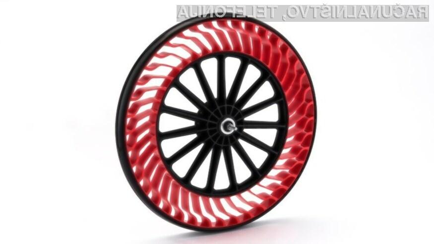 Brezzračna pnevmatika podjetja Bridgestone bo sprva na voljo za kolesa.