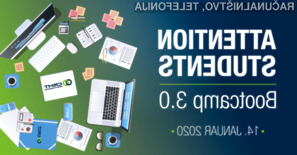 Izkažite se na CRMT Bootcampu 3.0