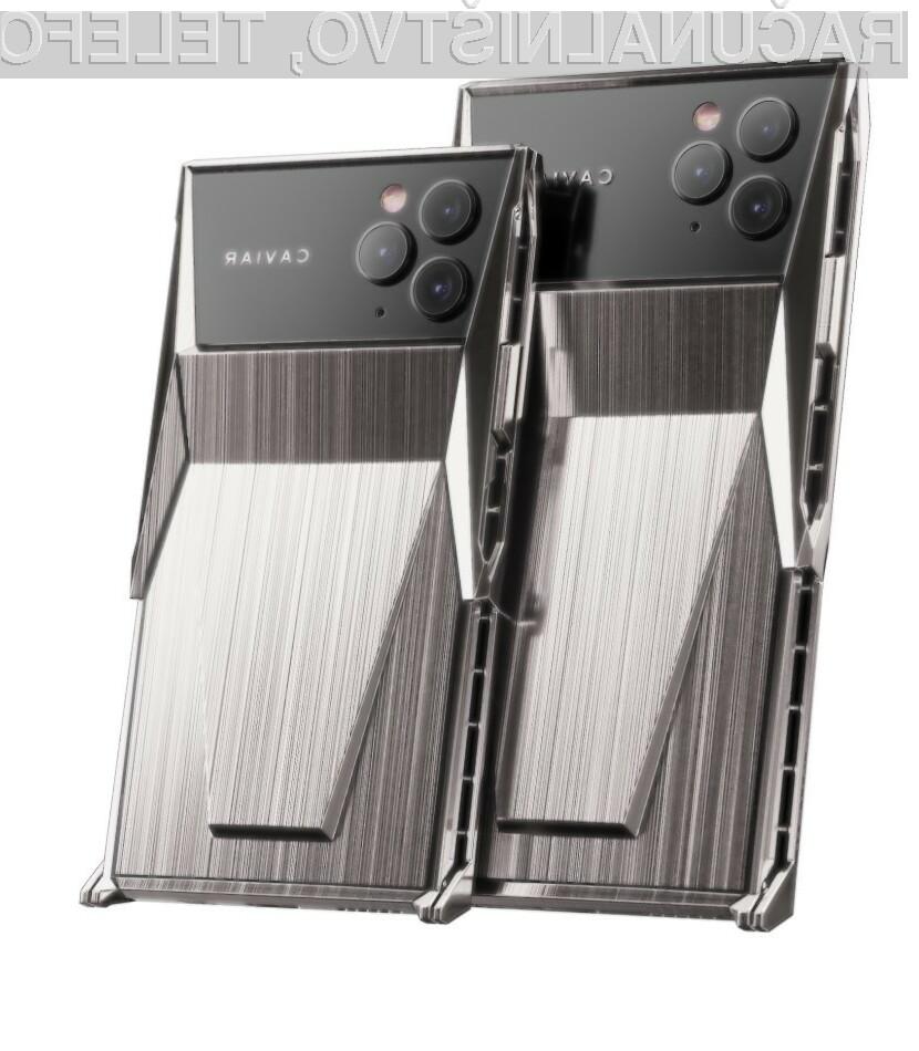 Pametni mobilni telefon Caviar Cyberphone navdušuje v vseh pogledih.
