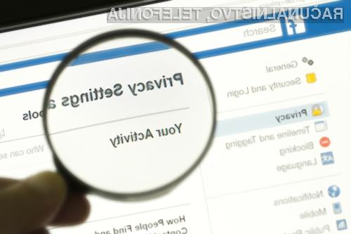 Facebook ima vse večje težave z varstvom zasebnosti uporabnikov.