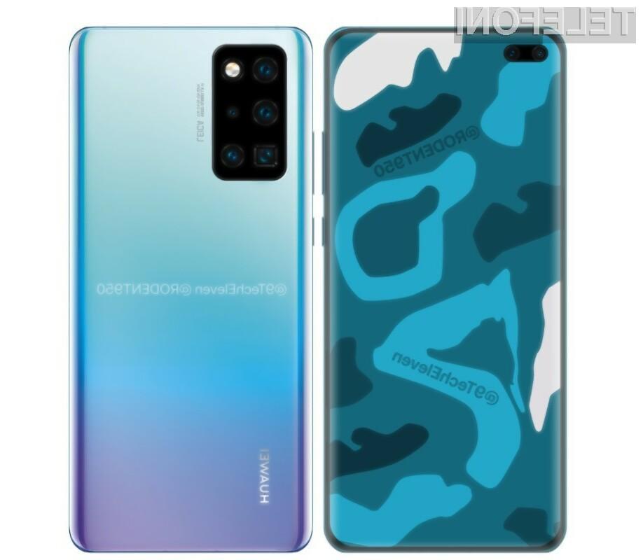 Pametni mobilni telefon Huawei P40 po vsej verjetnosti ne bo mogoče kupiti v Evropi.