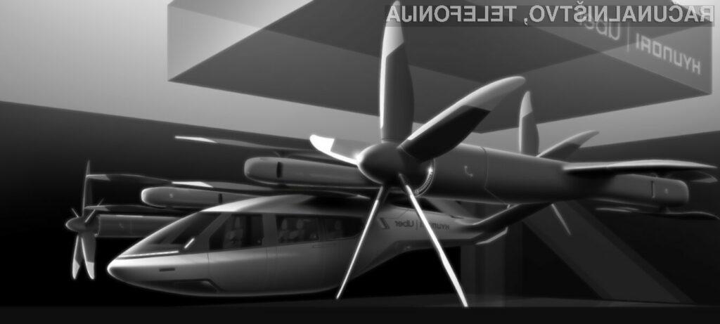 Leteči taksi Hyundai S-A1 naj bi bil kmalu povsem nared za komercialno uporabo.