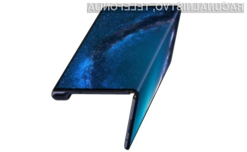 Pametni mobilni telefon Huawei Mate X gre v prodajo kot za stavo!