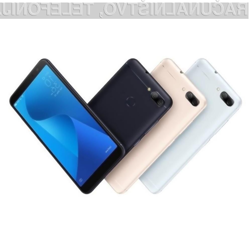 Pametni telefon ASUS ZenFone Max Plus M1 je lahko naš že za 81,98 evrov.
