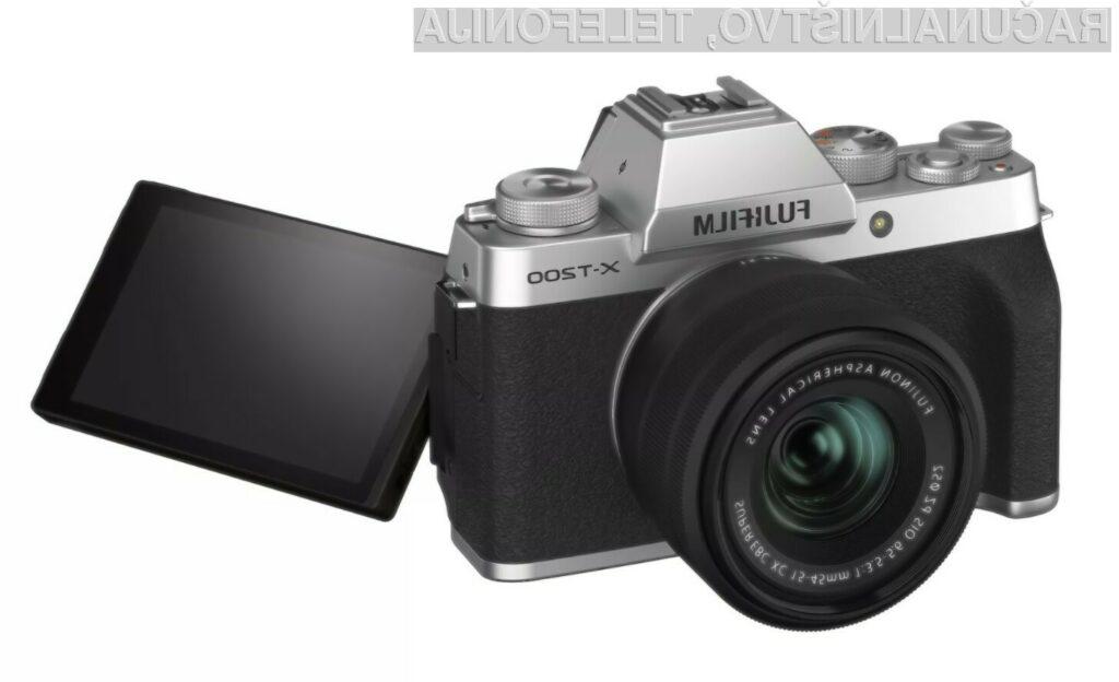 Fujifilm naznanil nov model fotoaparata