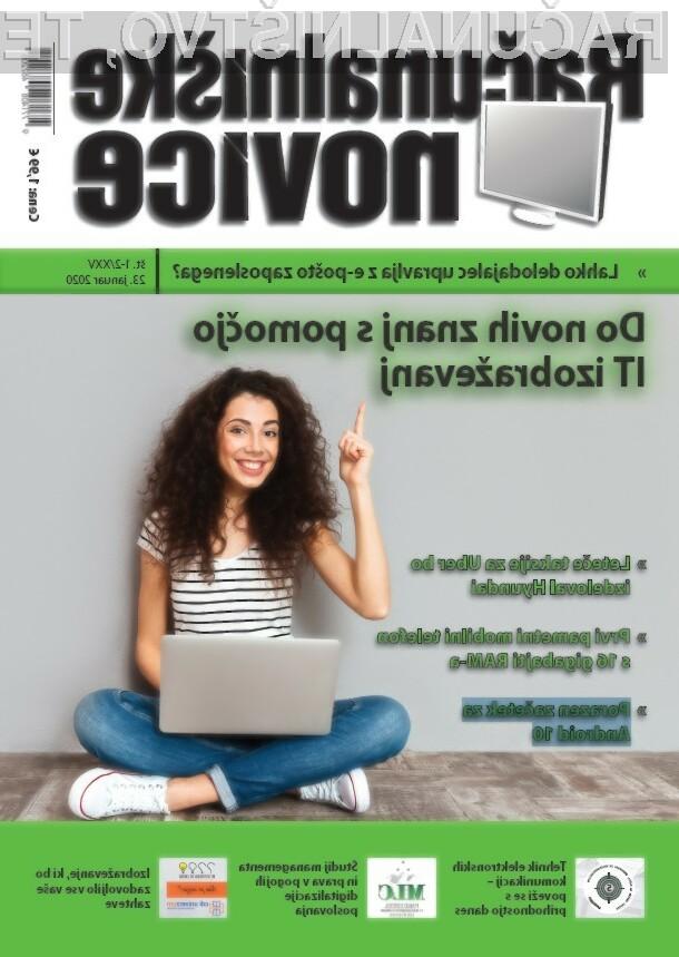 Nova številka revije: Do novih znanj s pomočjo IT izobraževanj