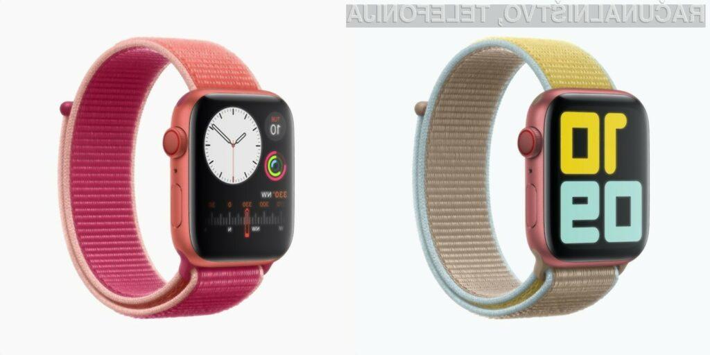 Nova pametna ročna ura Apple Watch Series 5 za dobre namene!
