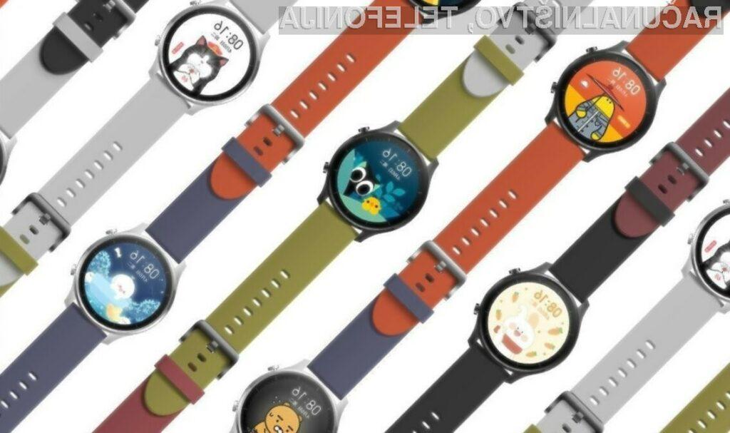 Pametna ročna ura Xiaomi Mi Watch Color navdušuje v vseh pogledih.