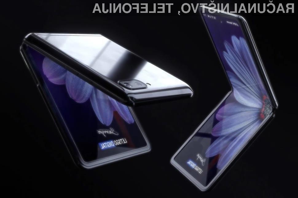 Pametni mobilni telefon Samsung Galaxy Z Flip bo zagotovo prepričal mnoge.