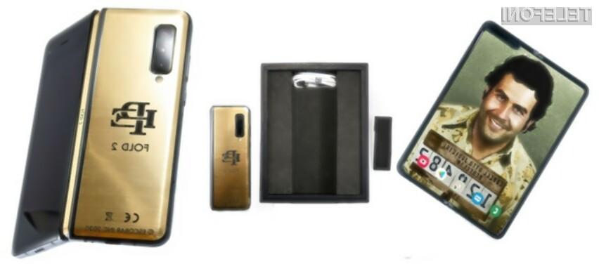 Prepogljivi pametni mobilni telefon Escobar Fold 2 je resnično zanimiva naprava.