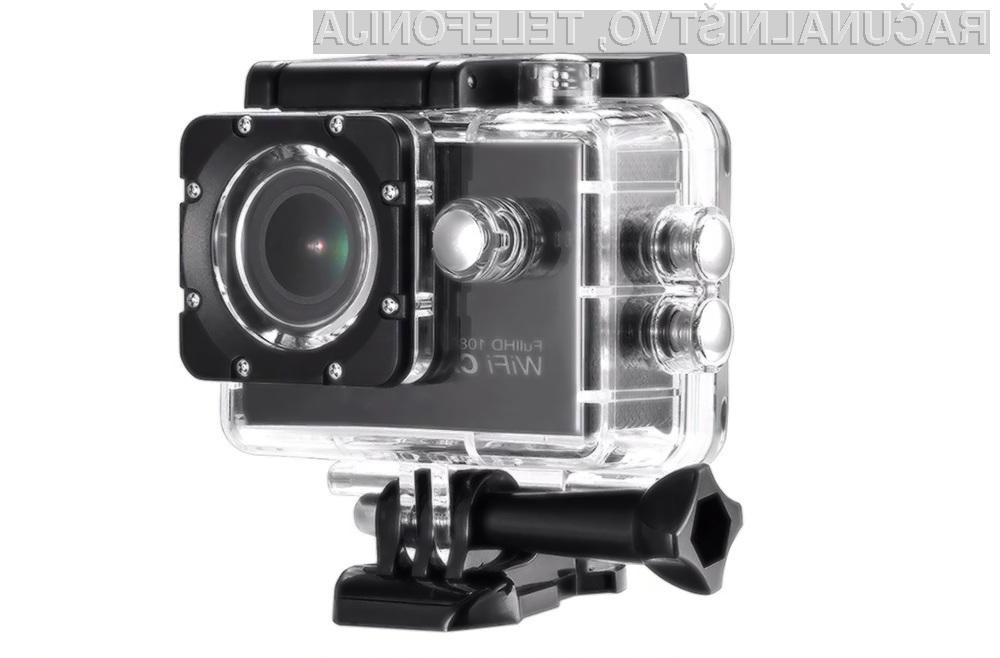 Akcijska kamera AT-G100 je lahko naša že za zgolj 17,99 evrov.
