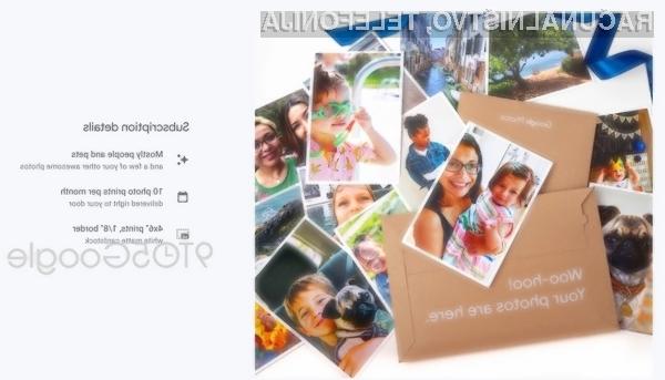 Storitev Google Photos odslej omogoča samodejno tiskanje fotografij na fotopapir.