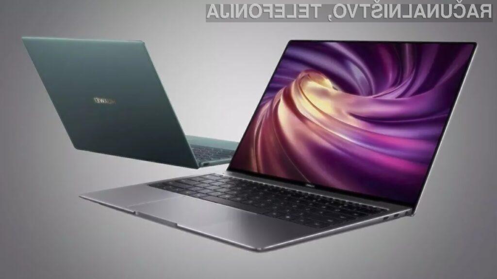 Prenosnik Huawei Matebook X Pro 2020 bo brez težav prepričal tudi najzahtevnejše uporabnike.