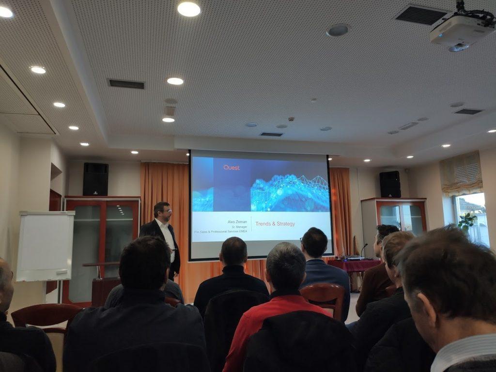 Quest DB konferenca in trendovske delavnice TOAD