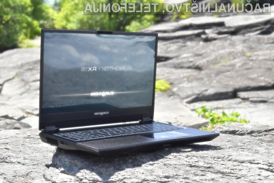 Prenosni računalnik Eurocom NightSky RX15 je pisan na kožo tistim, ki se ukvarjajo z obdelovanjem večpredstavnostnih vsebin.